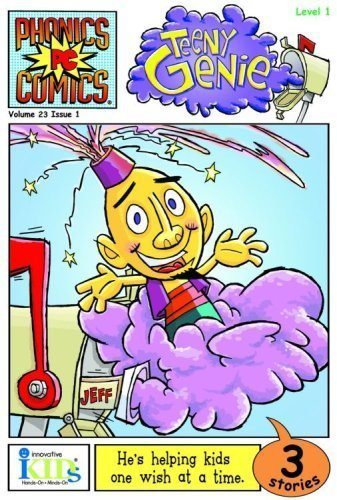 TEENY GENIE (Phonics Comics: Level 1) - phonics books