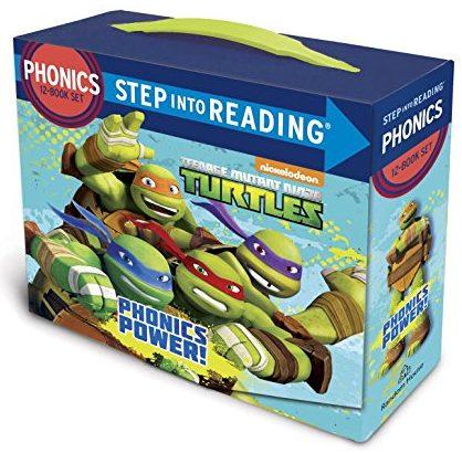 Phonics Power! (Teenage Mutant Ninja Turtles) - phonics books