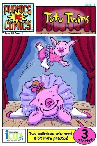 TUTU TWINS (Phonics Comics: Level 2) - phonics books
