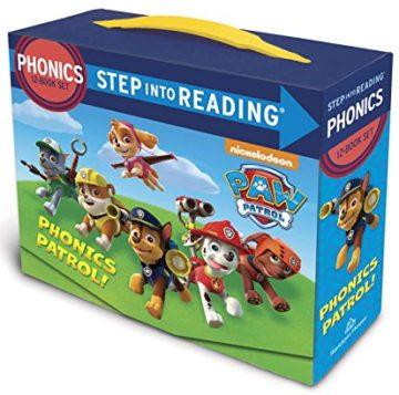 Paw Patrol Phonics Box Set (PAW Patrol) (Step into Reading) - phonics books