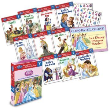 Reading Adventures Disney Princess Level 1 Boxed Set - phonics books