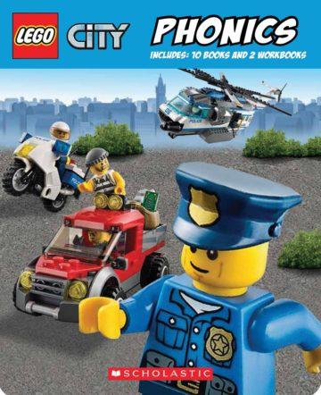 Phonics Boxed Set (LEGO City) - phonics books