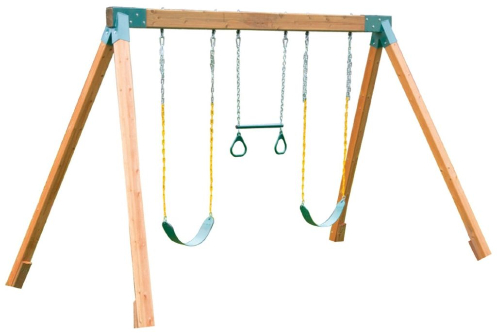 Classic Cedar Swing Set from Eastern Jungle Gym
