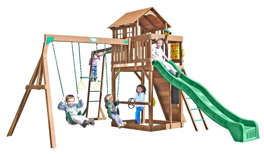 Cypress Swing Set by Creative Playthings