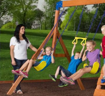 Fortune Bliss Backyard Swing Set