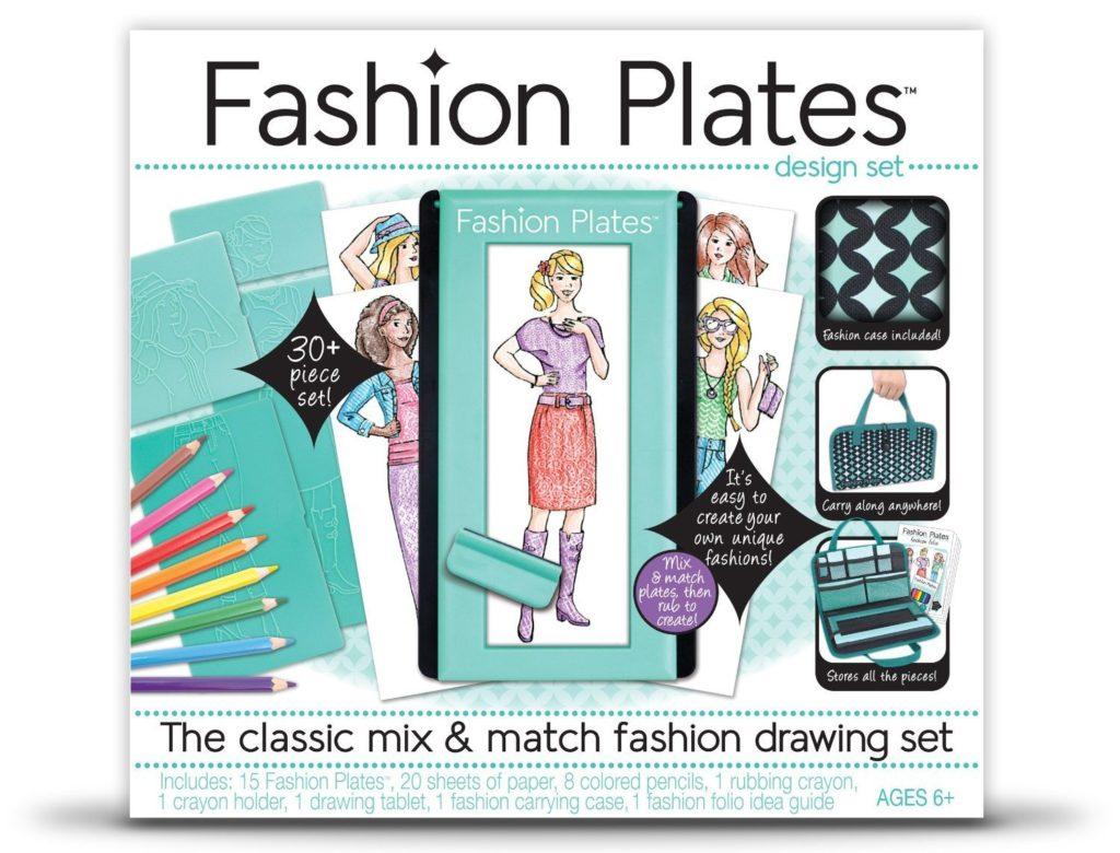fashion-plates-design-set