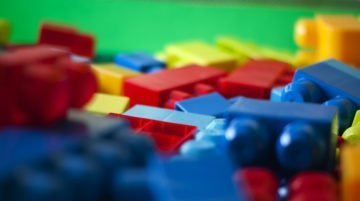 A Vertical Build – How We Constructed Our Makerspace Lego Wall