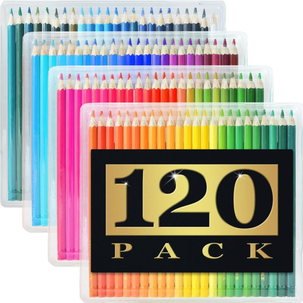 120 Colored Pencils by Artist's Choice