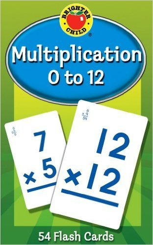 Multiplication 0 to 12 Flash Cards - multiplication flash cards