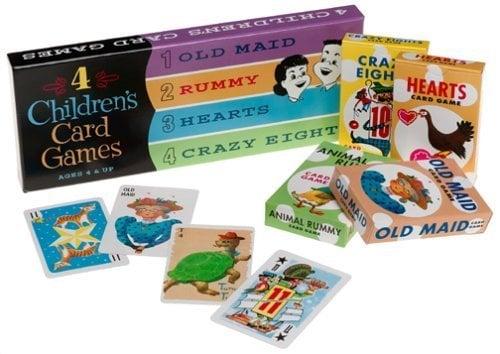 ThinkFun 4 Children's Card Games card games for kids