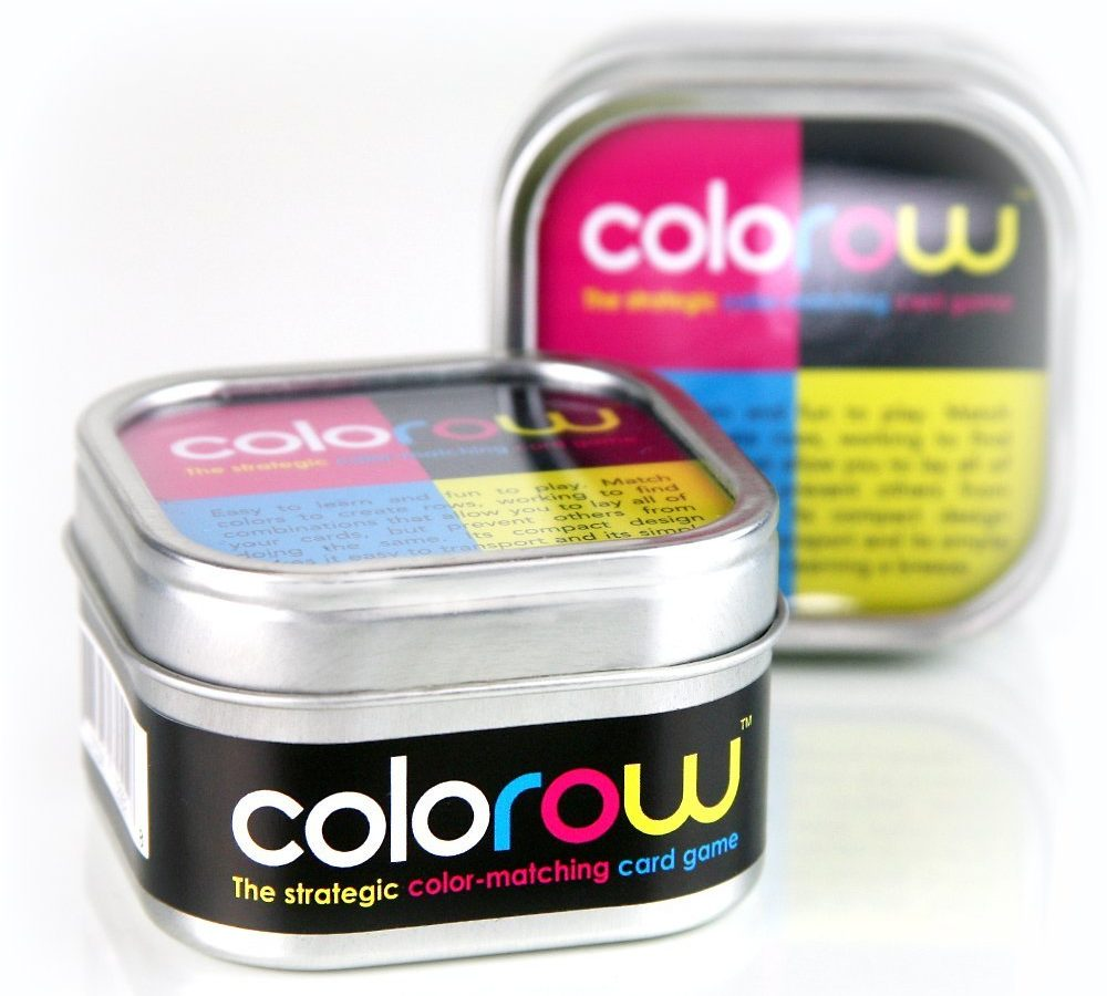 COLOROW - The strategic color-matching card game - card games for kids
