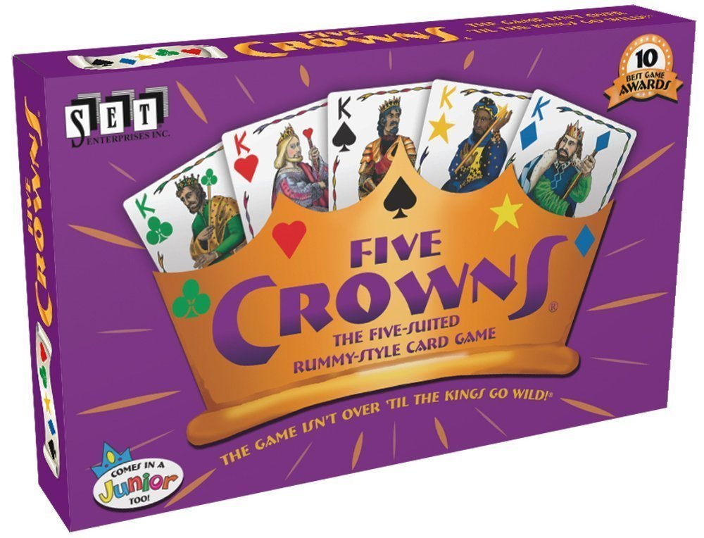 Five Crowns - card games for kids