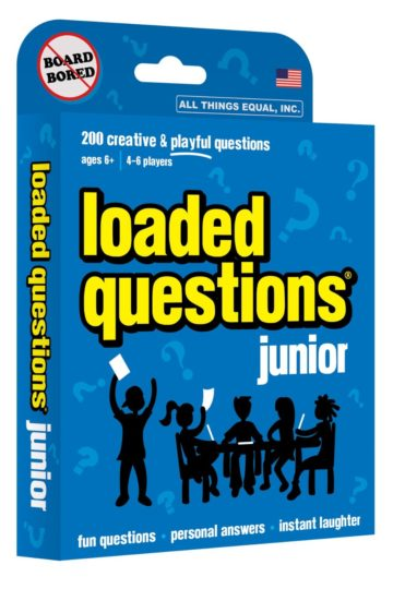 Loaded Questions Junior card game - card games for kids