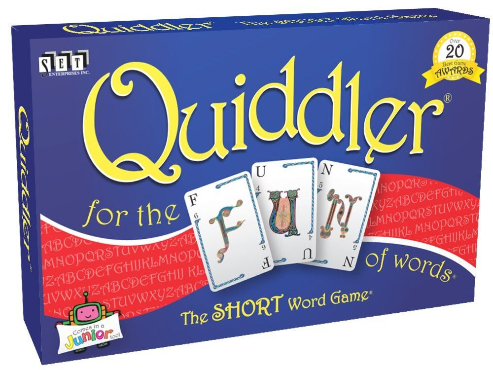 Quibbler - card games for kids