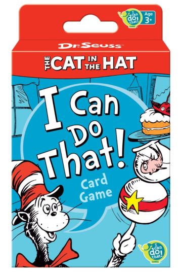 Dr. Seuss Cat in the Hat Card Game - card games for kids