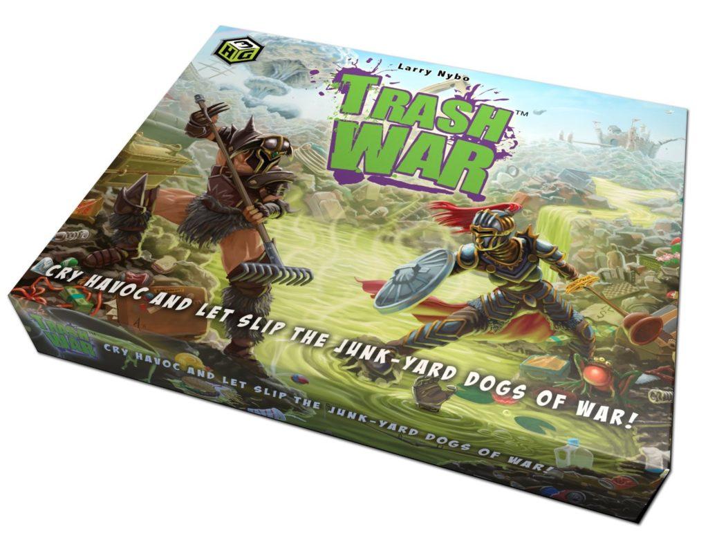 Trash War - card games for kids