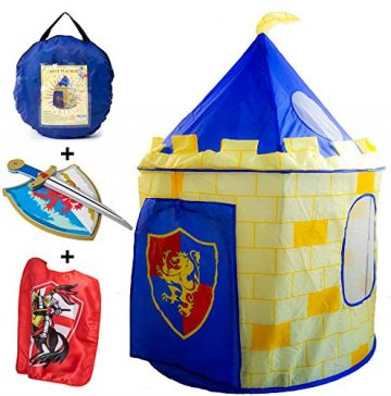 Image of Nona Active Kinght Castle Play Tent set for Kids