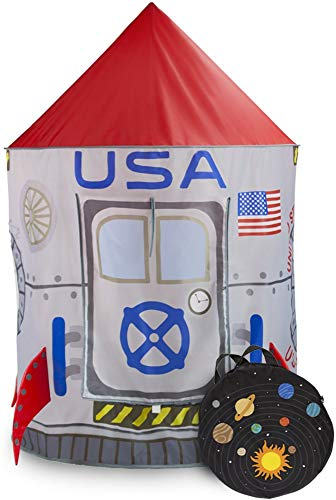 Image of Space Adventure Roarin Rocket Play Tent with Ball Pit