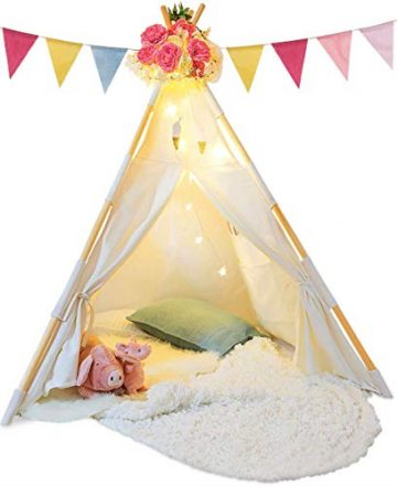 Image of TazzToys Tepee Tent For Kids