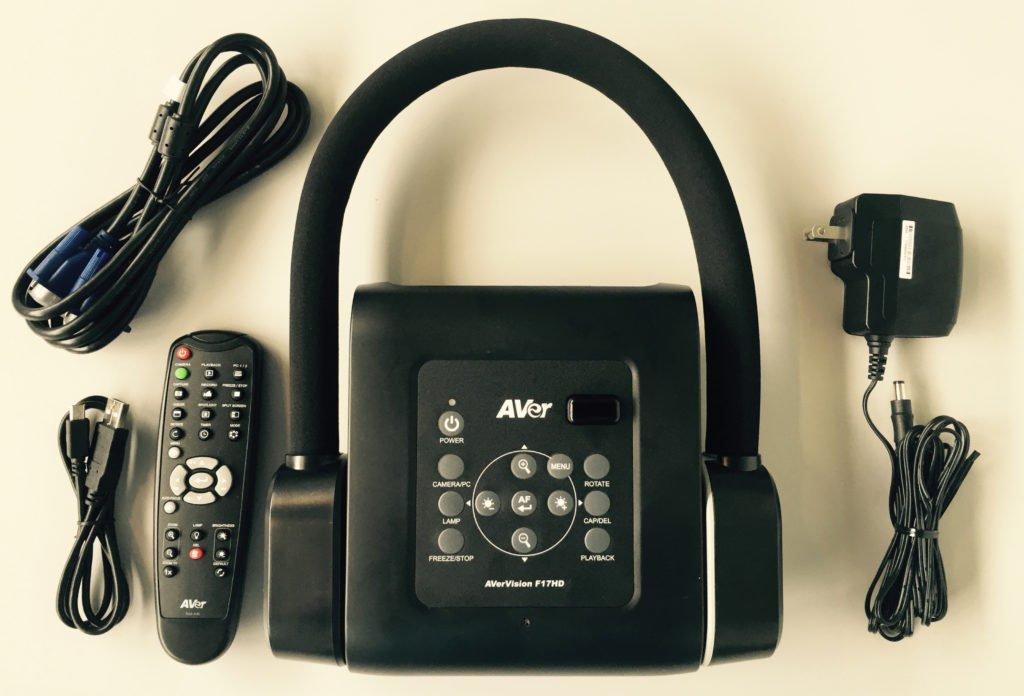 AVer F17HD Document Camera - In the box