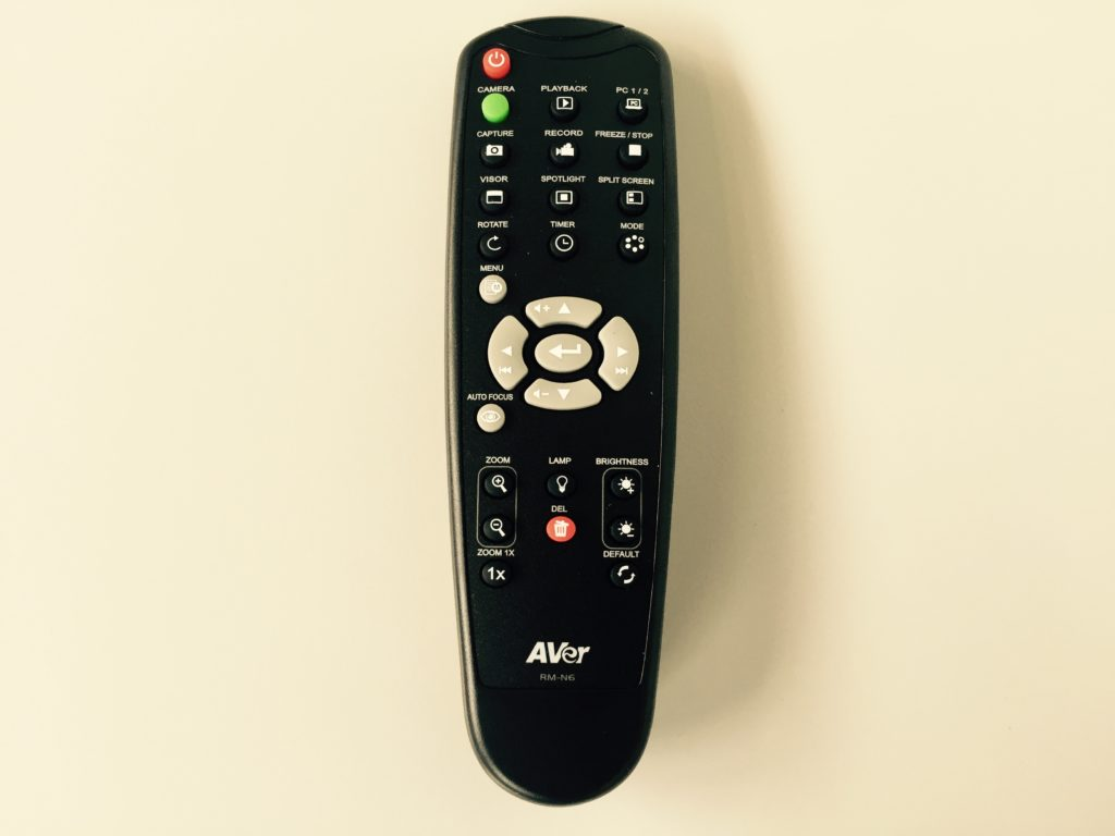 AVer F17HD Camera - Remote control