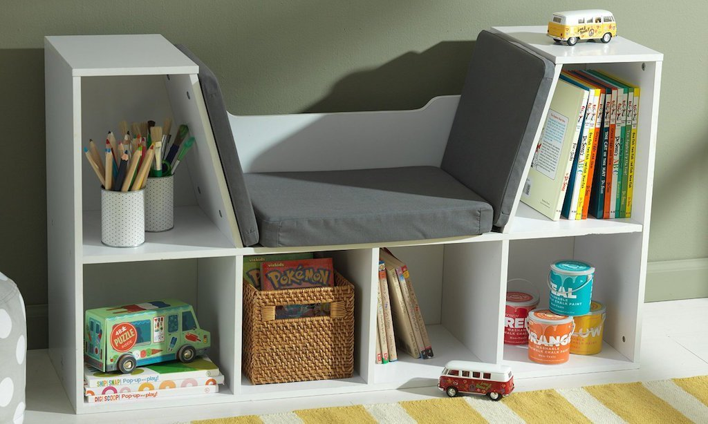 11 Kids Bookshelf Ideas for Bedrooms, Playrooms and Classrooms