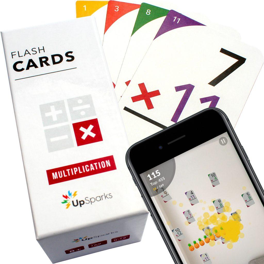 UpSparks Multiplication Flash Cards