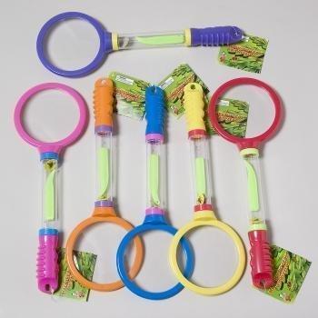 Magnifying Glass w/ Tweezers - Bug Kit