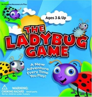 Zobmondo Entertainment The Ladybug Game - educational games