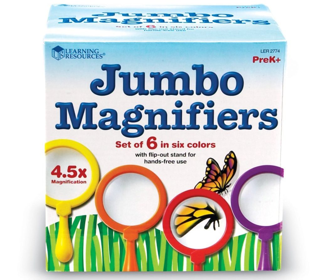 Learning Resources Jumbo Magnifier Set Of 6 - magnifying glass