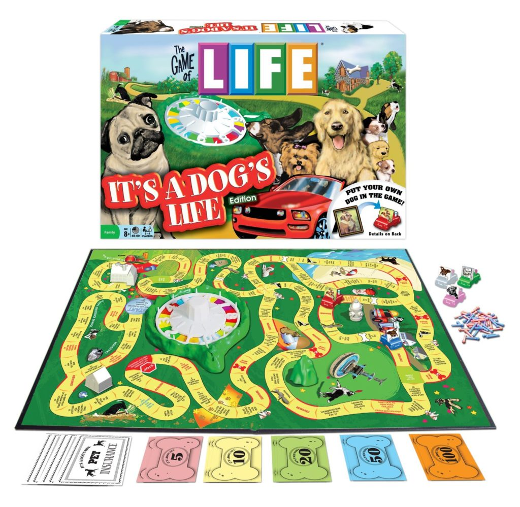 The Game Of Life It's A Dog's Life Edition - dog games