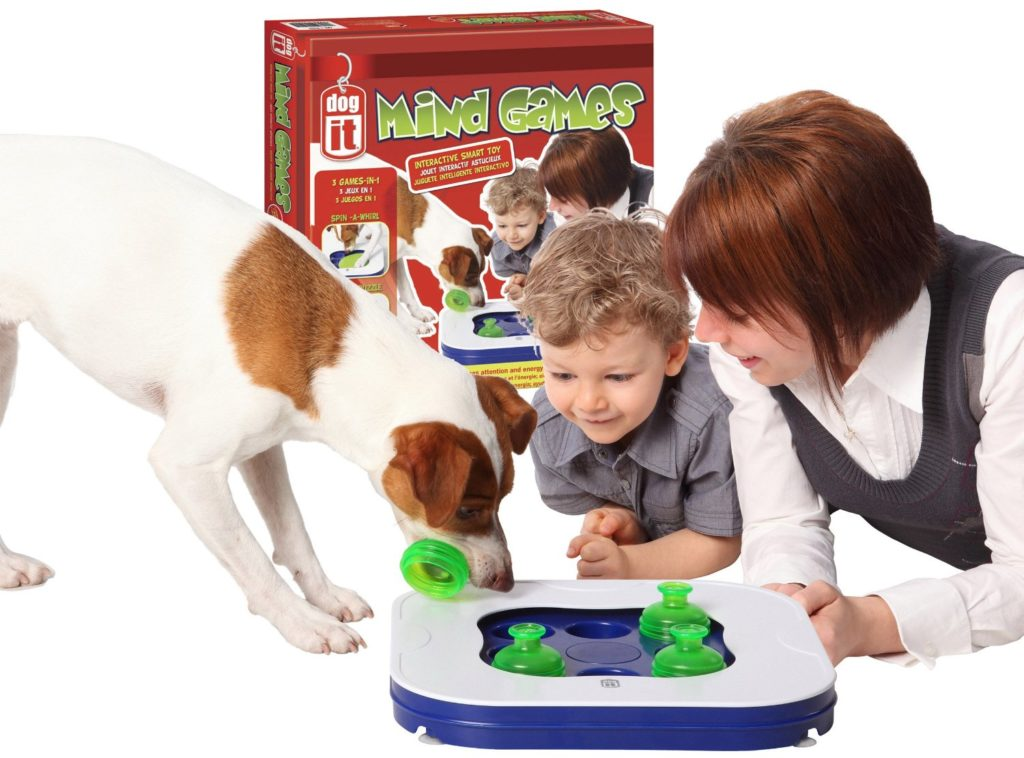 Dogit Mind Games 3-in-1 Interactive Smart Toy for Dogs - dog games