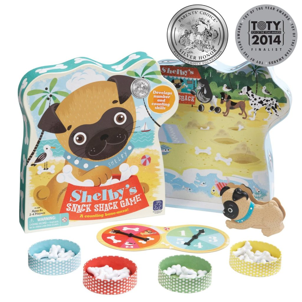 Educational Insights Shelby's Snack Shack Game - dog games