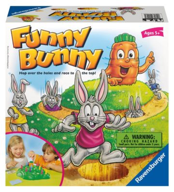 Ravensburger Funny Bunny - educational games