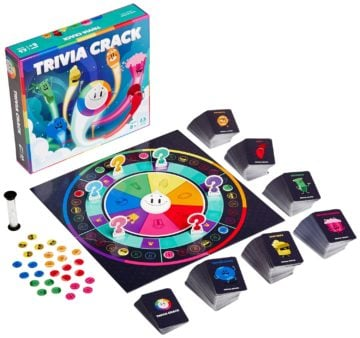 Trivia Crack Official Board Game - educational games
