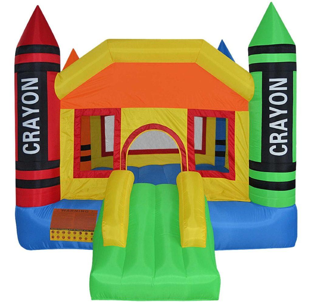 Cloud 9 Mini Crayon Bounce House