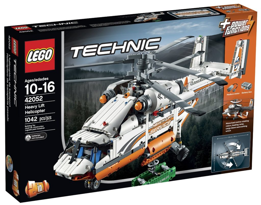 lego technic heavy lift helicopter instructions