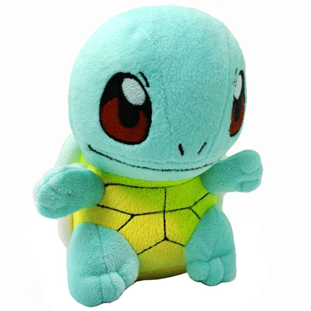 Pokémon Squirtle-Zenigame Rare Soft Toy