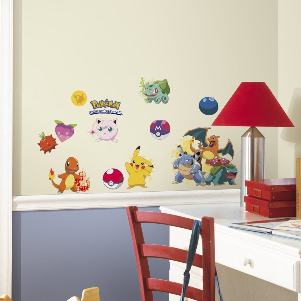 RoomMates Pokémon Iconic Peel and Stick Wall Decals