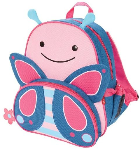 Skip Hop Zoo Backpack – Butterfly Backpacks for Girls