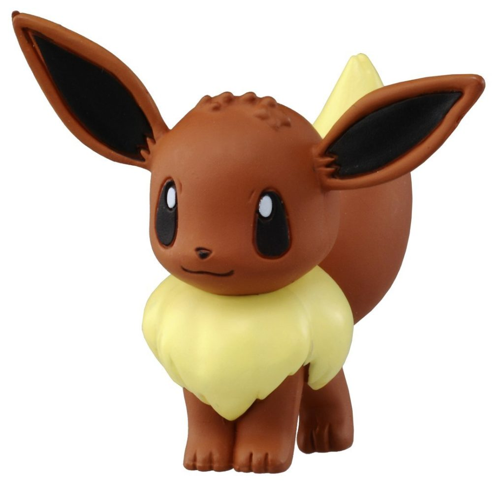 "Takaratomy Official Pokémon X and Y 2"" Eevee Action Figure"