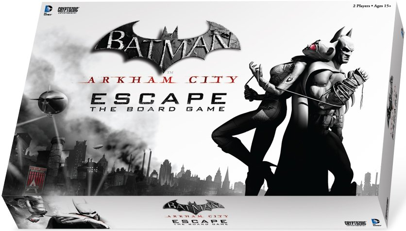 Arkham City - Escape the Board Game