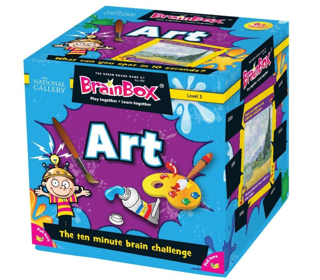BrainBox for Kids - Art Card Game - art games