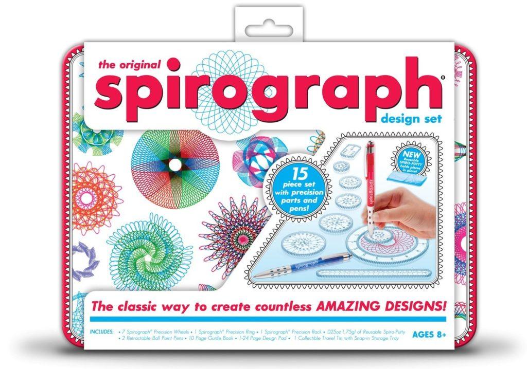 Spirograph Design Tin Set - art games