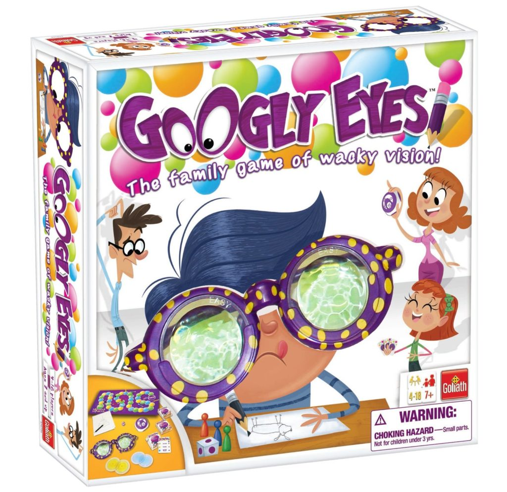 Googly Eyes Game - Family Drawing Game with Crazy, Vision-Altering Glasses - art games