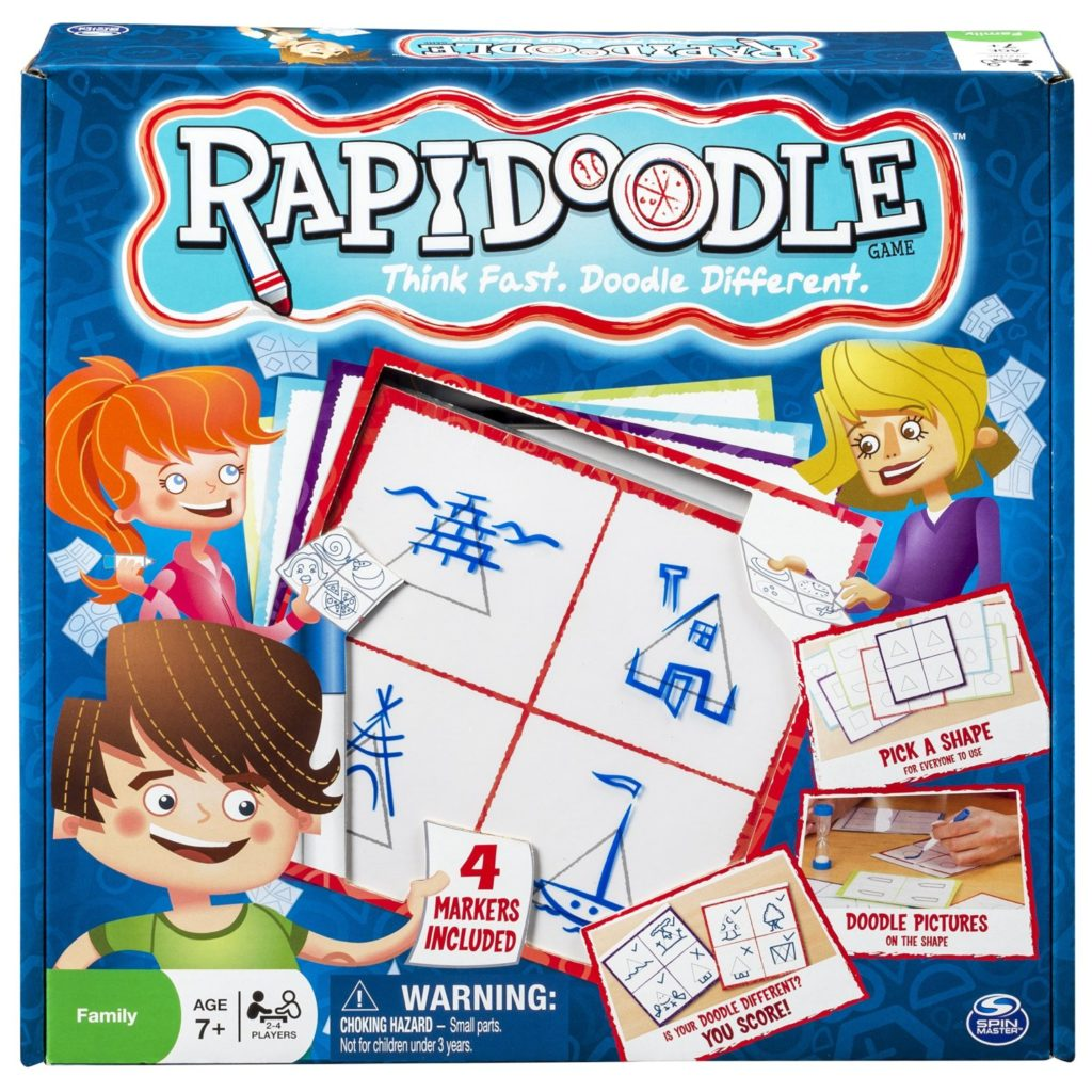 Spin Master Games - Rapidoodle Board Game - art games