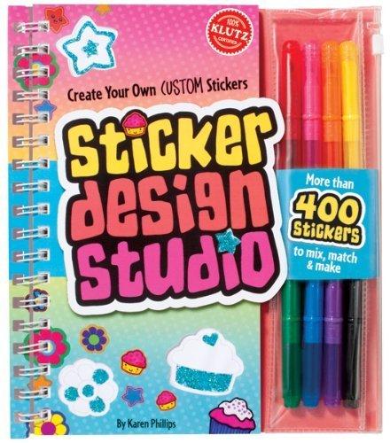 Klutz-Sticker-Design-Studio