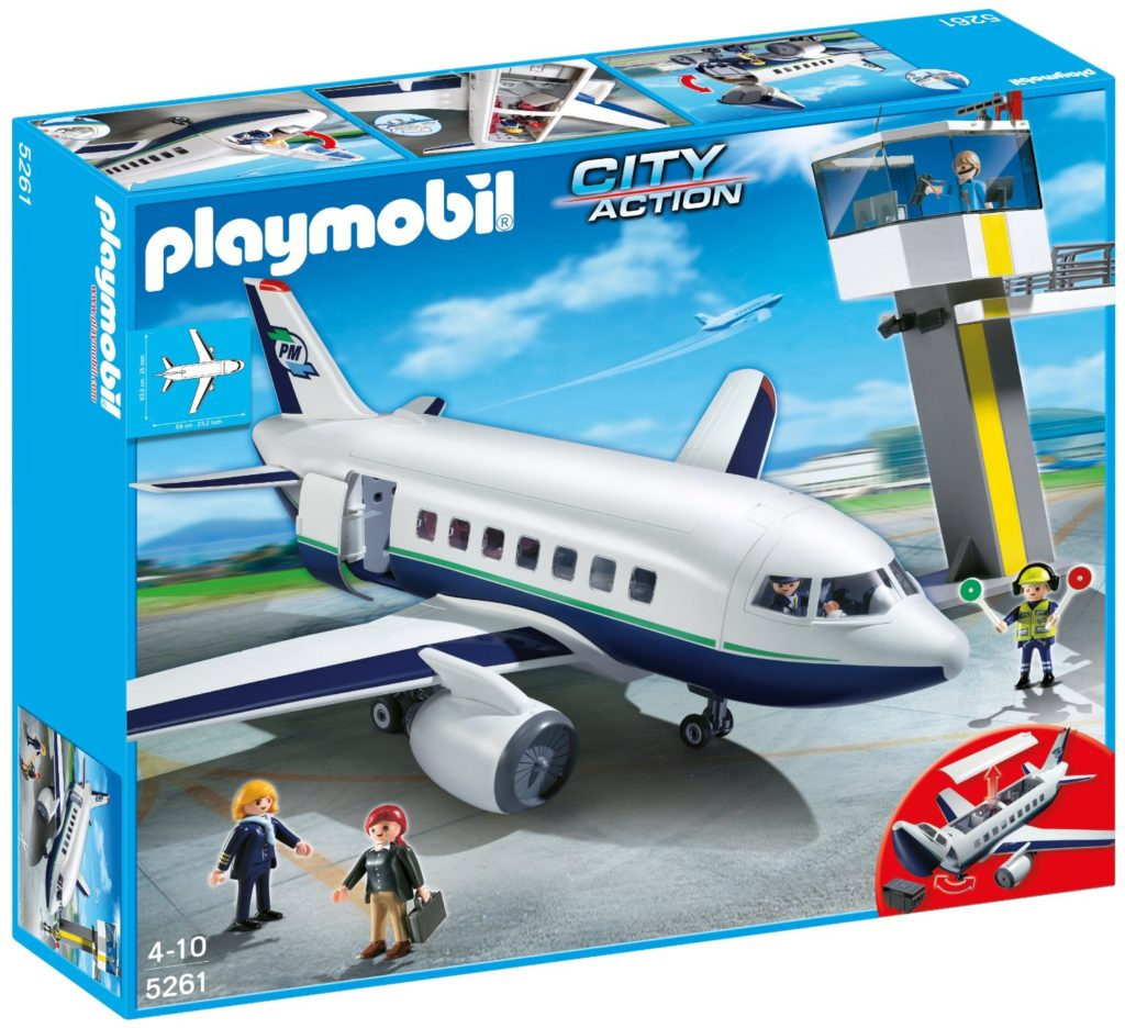 Playmobil Cargo and Passenger Aircraft