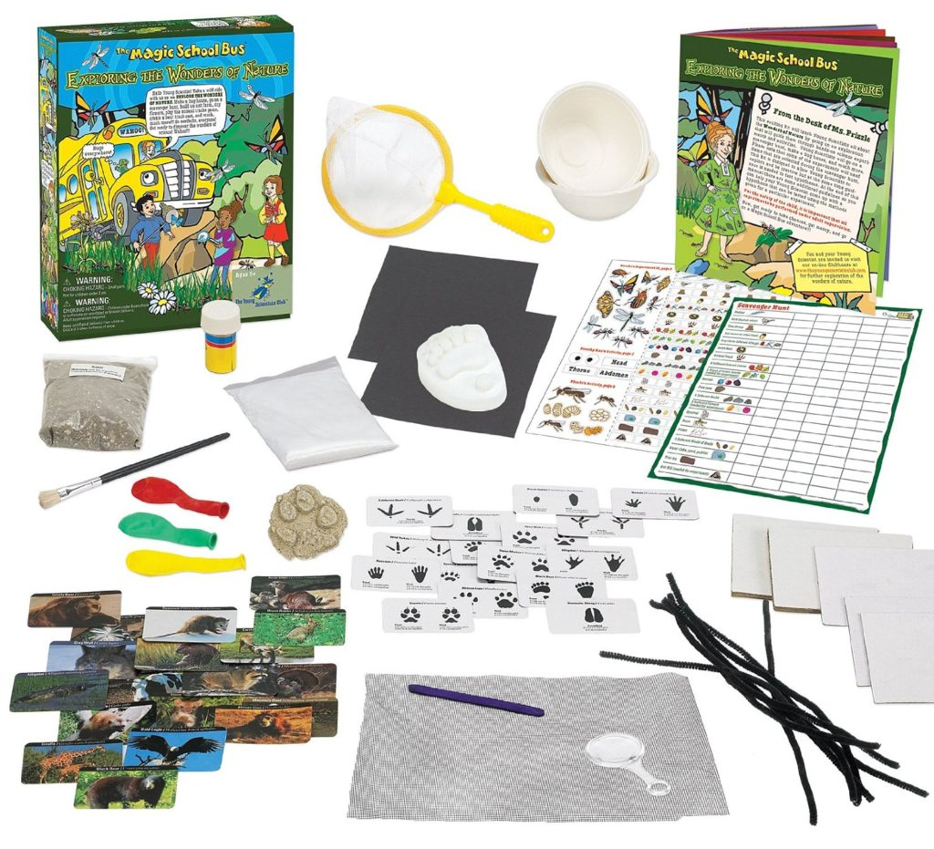 The Magic School Bus Young Scientist Club – Explore the Wonders of Nature