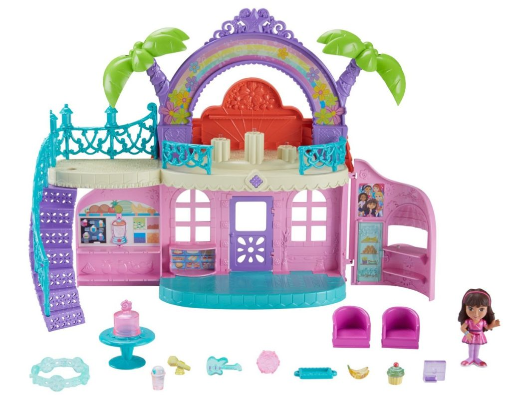 Fisher-Price Nickelodeon Dora and Friends Cafe - dora the explorer